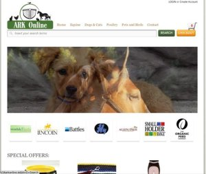 Arkonline.ie – – E-Commerce  website for equine and pet supplies