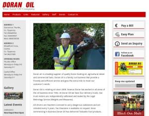 Doran Oil new Website