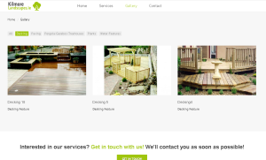 Kilmore Landscapes Responsive Website